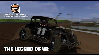 getlinkyoutube.com-rFactor: The Legend of VR (Legends @ Valvoline Raceway)