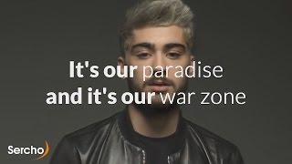 ZAYN - PILLOWTALK Lyrics (with video) | Sercho