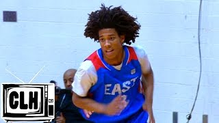 getlinkyoutube.com-Tyger Campbell & Charles Bassey SHOW OUT at Underclassman All American Game - TOP PLAYS