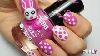 getlinkyoutube.com-Happy Easter Nail Art + iLOVEsummer Nail Art BY Roslion90