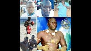 les lutteurs rendent hommage à Boy Kairé