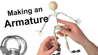 getlinkyoutube.com-Stop Motion Tutorial:  Making an Armature