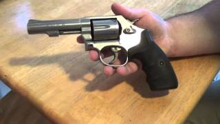 getlinkyoutube.com-Smith & Wesson 64-8 .38SPL+P (range trip)