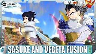 getlinkyoutube.com-Fusion Vegeta and Sasuke Vs Fusion Goku and Naruto - Dragon Ball VS Naruto Shippuden - XV mod