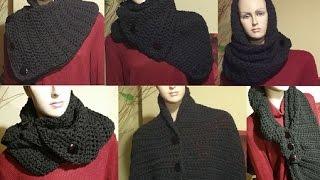 getlinkyoutube.com-Tutorial sciarpa all'uncinetto - Dallas dream scarf rivisitata - bufanda crochet - crochet scarf