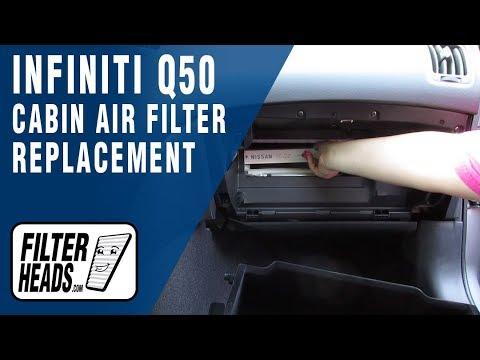 Где воздушный фильтр в Инфинити EX37