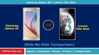 getlinkyoutube.com-Lenovo Vibe Shot vs Samsung Galaxy S6 - Which is Best?