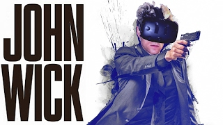 JOHN WICK 2 VR SHOOTER on VIVE