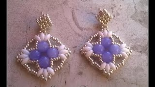 getlinkyoutube.com-Orecchini James  (James earrings)