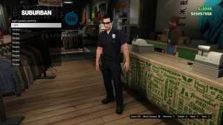 How To Get LSPD (Police/Cop) Uniform in GTA Online!