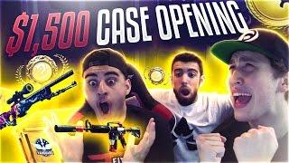 getlinkyoutube.com-$1,500 CS:GO CASE OPENING (BLUE GEM KNIFE)