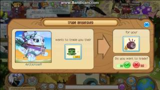 getlinkyoutube.com-Trading Attempts for a Magenta Eyeball Hat - ACCEPTED! ~ Animal Jam
