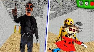 Nightmare Principal & Nightmare Playtime In Baldi's Basics (Mod) 2018