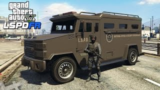 getlinkyoutube.com-★ GTA 5 - PLAYING AS SWAT! LSPDFR #3 (GTA V PC Mods Gameplay)