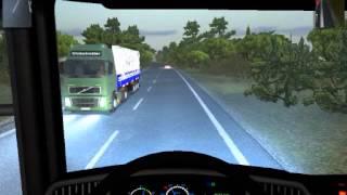 getlinkyoutube.com-ETS 1.3 , Scania 113H Dama Da Noite.. Puxando carga Bitrem ao Som do DJ Wagner