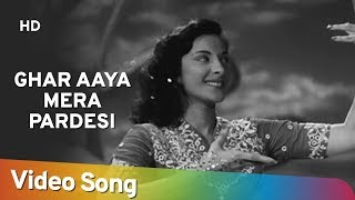 getlinkyoutube.com-Ghar Aaya Mera Pardesi - Medley Song (Dream Sequance ) - Nargis - Raj Kapoor - Awaara - Lata Hits