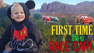getlinkyoutube.com-Michael's First FAST RIDE at Disneyland!!