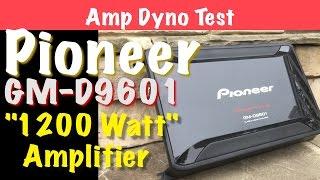 getlinkyoutube.com-Pioneer GM-D9601 Budget 1200 Watt Amplifier Amp Dyno Test