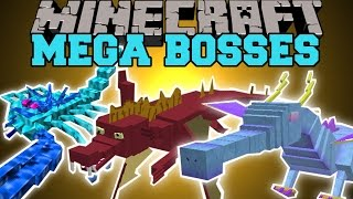 getlinkyoutube.com-Minecraft: MEGA BOSSES (YOU WILL NOT SURVIVE!) Mod Showcase