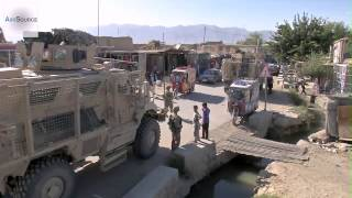 MaxxPro MRAP Vehicles in Afghanistan