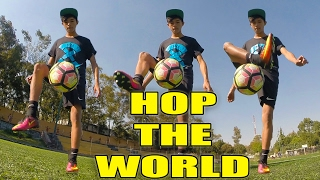 "getlinkyoutube.com-Hop the World ""HTW"" / Tutorial de Freestyle Fútbol en Español / Tiitanes * Soccer tricks Skills"