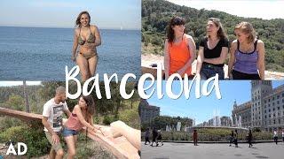 getlinkyoutube.com-Behind the Scenes of an Erotic Film in Barcelona! | Hannah Witton