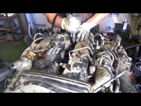 Проверка компрессии в двигателе J3 Bongo III Euro 4 18.07.17