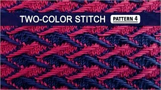 getlinkyoutube.com-Two-color Stitch Pattern #4 - 3/22/2015