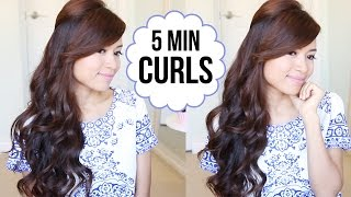 getlinkyoutube.com-Hairstyle Hack: How to Curl Your Hair in 5 Minutes