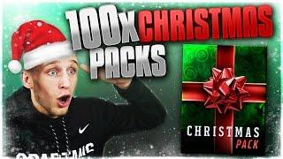 getlinkyoutube.com-ONE HUNDRED CHRISTMAS PACKS OPENING! MERRY CHRISTMAS! Madden Mobile 17