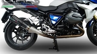 getlinkyoutube.com-BMW R 1200 RS LC 2015 GPR EXHAUST SYSTEM SOUND SCARICO GPR BMW R 1200 RS  SUONO