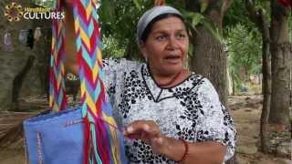 getlinkyoutube.com-Mochilas Wayúu de un sólo color (Unicolor). Hechas a mano por los indígenas Wayúu de Colombia