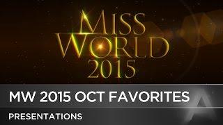 getlinkyoutube.com-Miss World 2015 October Predictions