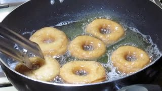 Homemade Donuts recipe (Doughnut) - Simple donuts recipe