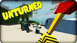 getlinkyoutube.com-Unturned - Zombie Survival Game - SAMURAI TURTLE !