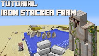 getlinkyoutube.com-Minecraft: Iron Stacker Farm Tutorial (1.8/1.9/1.10)