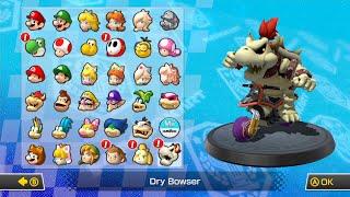getlinkyoutube.com-Mario Kart 8 All Characters