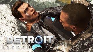 Detroit: Become Human BAD ENDING (Markus vs Connor Fight, Kara's Sacrafice) 1080p HD