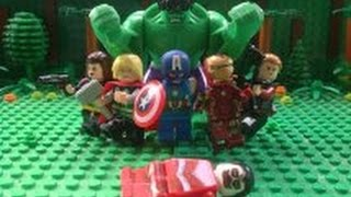 getlinkyoutube.com-Lego Avengers Episode 1: Rescue Mission