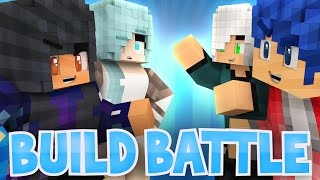 getlinkyoutube.com-Boys VS Girls: Travis Arrives! | Minecraft Build Battle