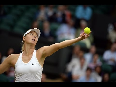 Highlights Day 6: Sharapova smashes Riske - Wimbledon 2014