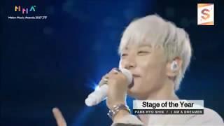 20171202 Park Hyo Shin 박효신 - I am A Dreamer @ 2017 MelOn Music Awards