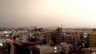 getlinkyoutube.com-BEKHANDIM    اصابت رعد و برق به قطار در ژاپن   jaleb va Didani