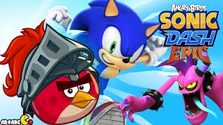 getlinkyoutube.com-Sonic Dash: Angry Birds Epic Takeover BOSS BATTLE! iOS/ANDROID