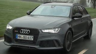 Audi RS6 2013 C7 roadtest (English subtitled)