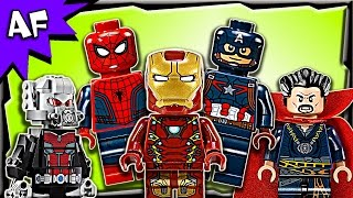 getlinkyoutube.com-Lego MARVEL Minifigures 2016 Complete Collection Review