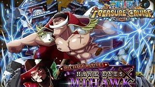 getlinkyoutube.com-One Piece Treasure Cruise Mihawk Raid: Evolve Whitebeard at last!