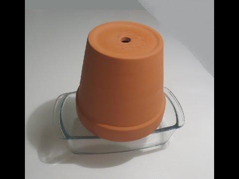 كيف تصنع مدفئه بواسطه شمعه ?