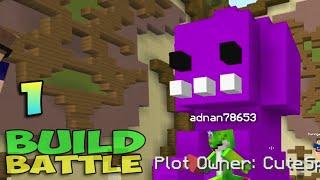 getlinkyoutube.com-ч.01 Minecraft Build Battle - Динозавр и Рождественское дерево