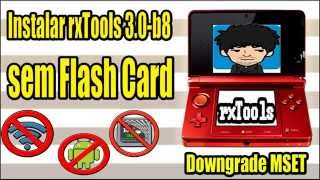 getlinkyoutube.com-[3DS] Como instalar a rxTools 3.0 b8 SEM flashcard - Desbloqueio 3DS (4.1-9.2)